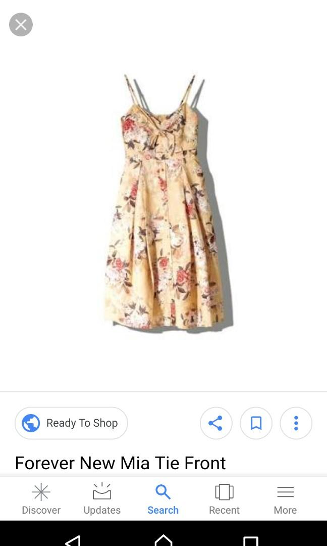 Size 10 Mia dress from Forever New