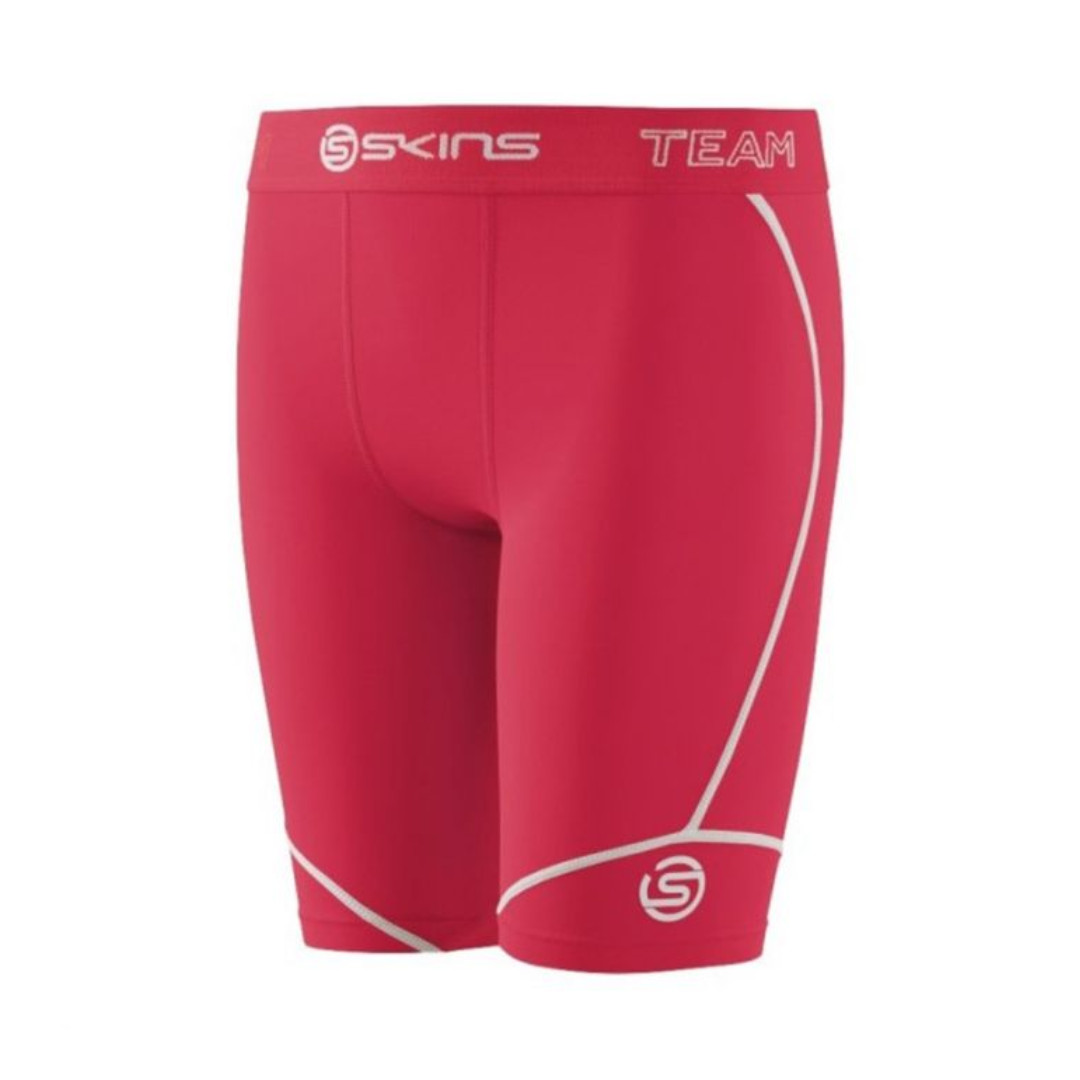 7d78206c6d0931 SKINS DNAmic Team Women Compression Half Tights - Red Size S, Sports ...