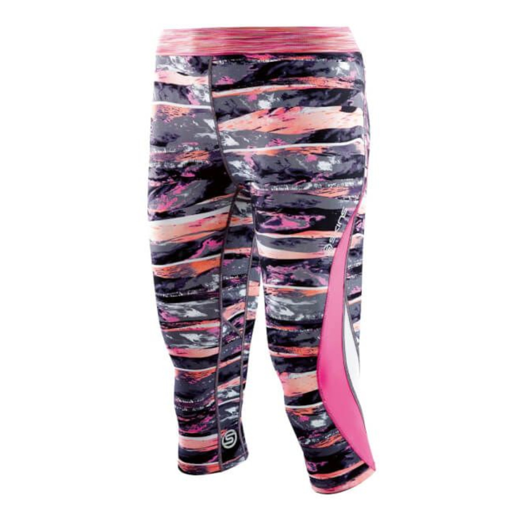 f923264c56c5f7 SKINS DNAmic Women Compression 3/4 Tights - Strata Size XS, Sports ...