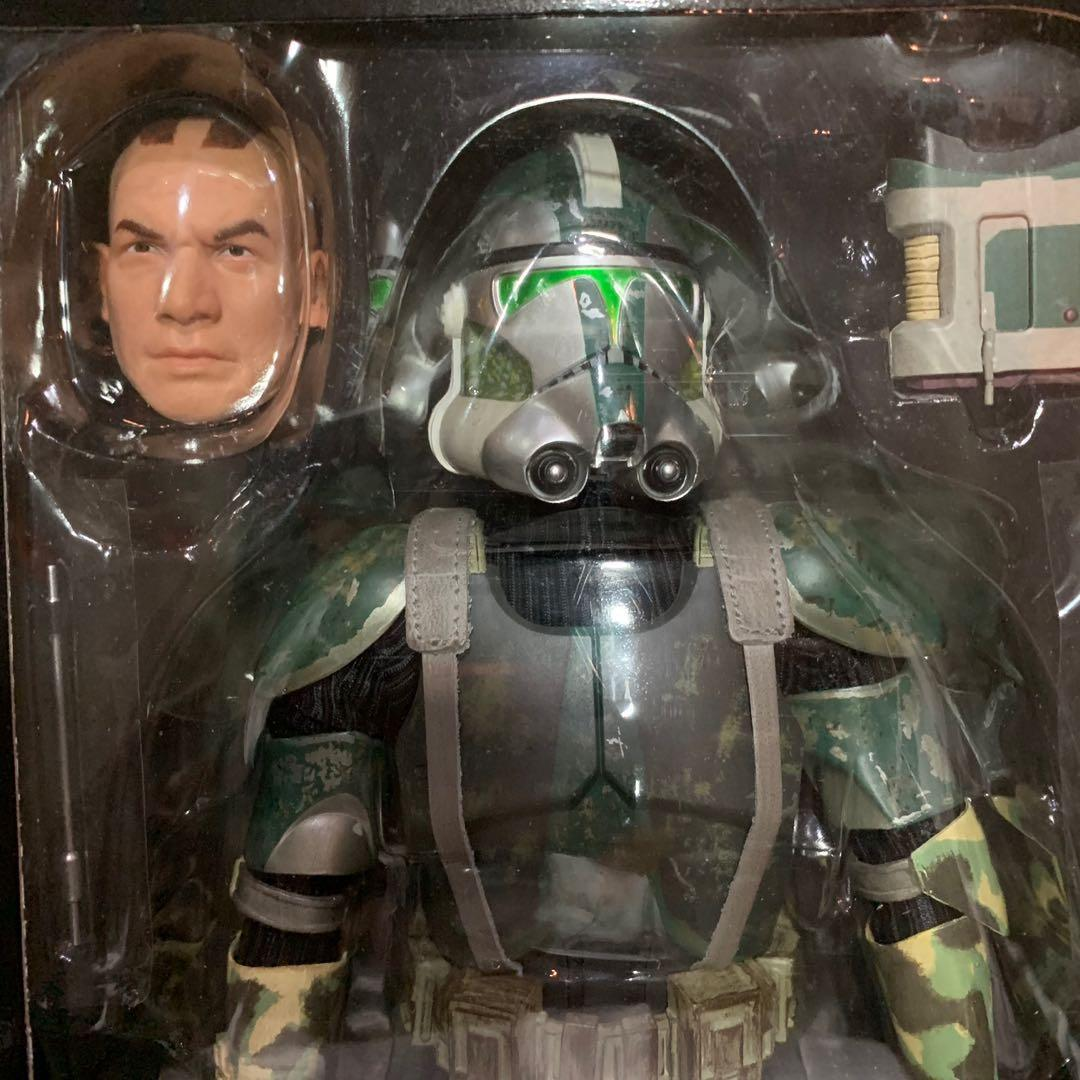 Star Wars Sideshow 1/6 Scale Commander Gree and Coruscant