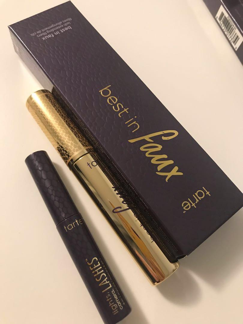 Tarte- Best in faux lash extension fibers and mascara set