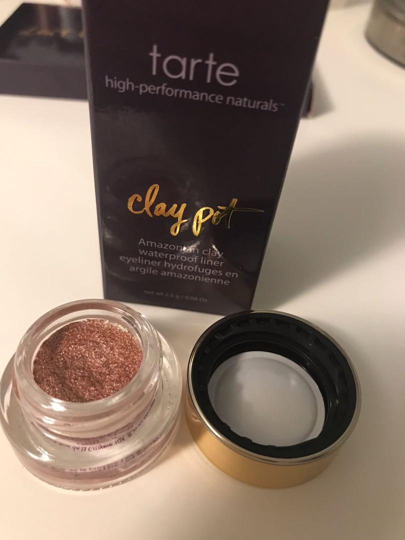 Tarte-Amazonian Clay waterproof liner in rose gold.