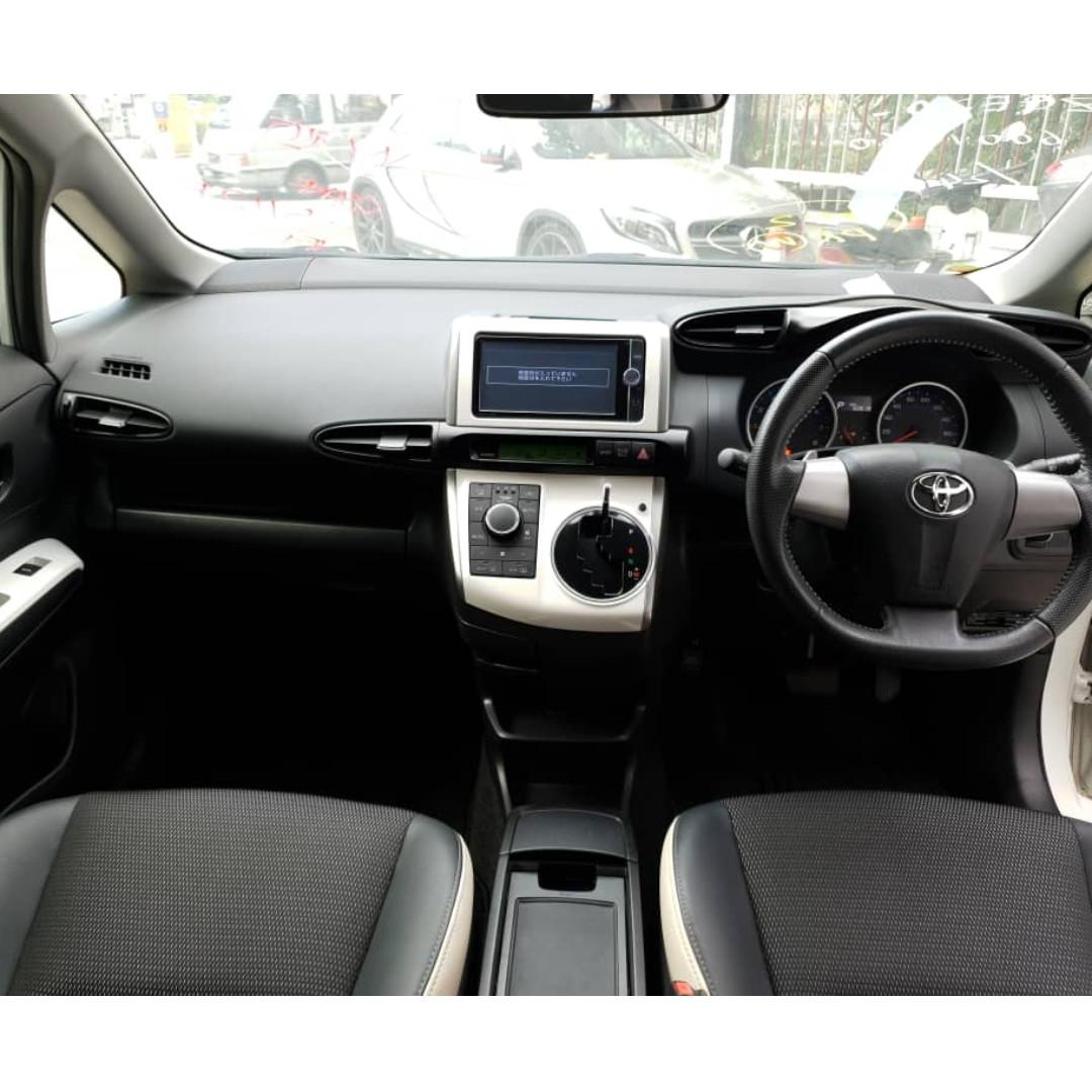 Toyota Wish 1.8 MONOTONE S Package Unregistered High Loan