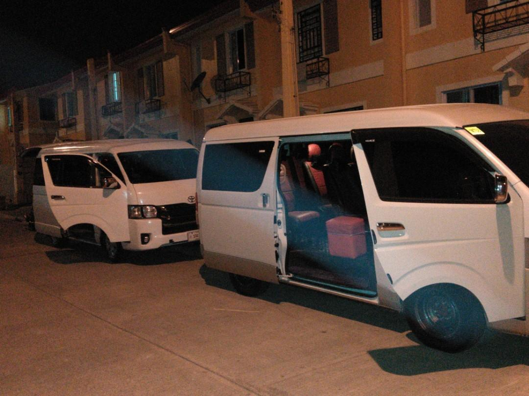 Van for rent, accept all mmanila and provincial trips,.. 09395397642