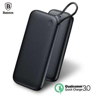 🚚 Baseus 20000mAh Quick Charge 3.0 + 18W Powerful Powerbank