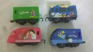 Disney characters mini train