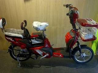 Sepeda Listrik Merek Selis Type UNITY Untuk Info Pemesanan Silahkan Chat Via Whatsapp-O81916995299 Kami