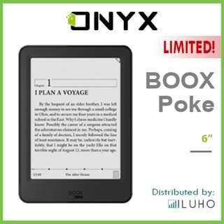 """[BNIB] CLEARANCE LAST 1! ONYX BOOX Poke 6"""" Android E-ink Reader + FREE Cover"""