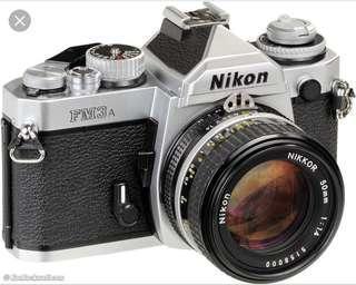Nikon Fm3a + 50mm f1.4 + 24mm f2.8