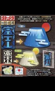 夜光版 富士山 組合模型拼圖