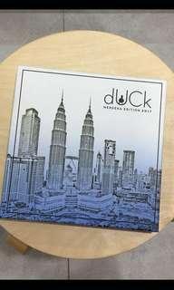 KL Duck Scarf Merdeka Edition in Blue