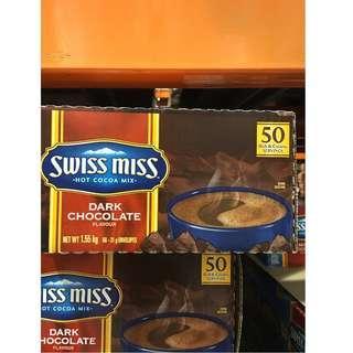 🚚 好市多 香醇巧克力 31公克 一盒50入 黑甜可可粉 Swiss Miss 巧克力粉 熱可可 上班族必備 隨身包 costco代購