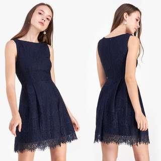 Fayth Loewe Lace Dress