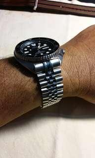 Strapcode Super Jubilee bracelet for New Seiko Turtles