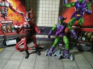 """Marvel Legends Set of 2 (Red Goblin/Green Goblin) 6"""""""