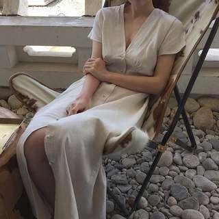 🚚 Button Front Dress