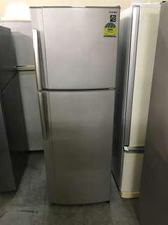 🚚 Sharp 312l 4 Ticks fridge / refrigerator