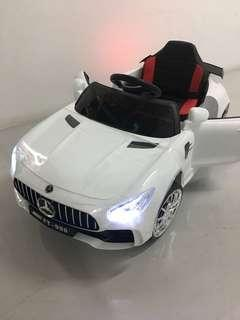 Instock Battery operated children Electric ride on car with remote control walker stroller