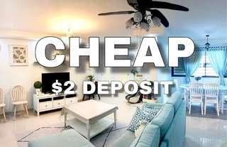 Cheap $2 Deposit