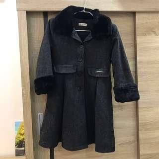 🚚 童裝鋪棉大衣 140cm (二手)
