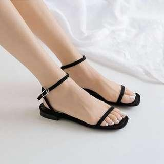 🚚 Leather Strap Sandals