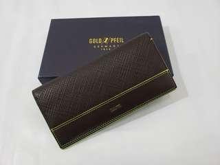 Gold Pfeil (全新) 長銀包