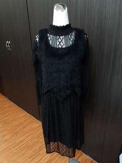 🚚 全新真兩件式洋裝