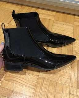 Black Zara Booties *NEW*