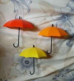 雨傘形掛勾 遮仔 裝飾 佈置家居 桌面 宿舍