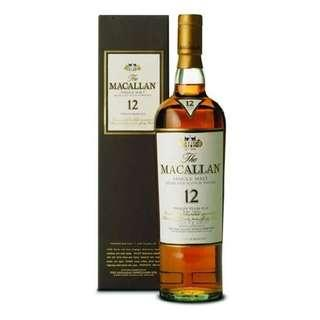 Macallan 12, Sherry Oak (New Version)