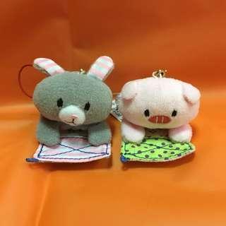 Rabbit/Pig Small Plush