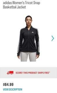 *BRAND NEW* adidas snap track jacket!!!