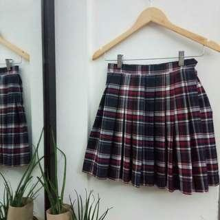 Plaid Tennis Skirt Size 25-29