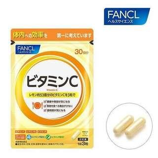 FANCL - 天然果實綜合維他命C丸 (30日份量) 90粒
