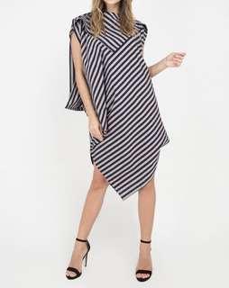 Batik Lurik Dress Senandung