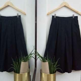 HQ Navy Cullotes Skirt-Pants