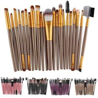 20 Pc Makeup Brush Set