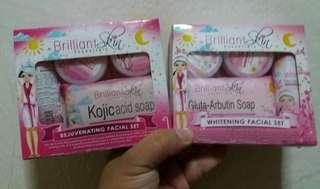 Brilliant Skin Essentials Rejuvenating Set / Whitening Set