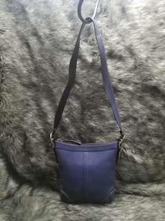 COACH PEBBLED LEATHER DUFFLE