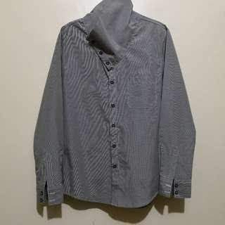 C335 - N Hoolywood Buttoned Up Shirt - Selling Low with Flaw