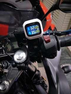 CAREUD凱佑 CT220-Z 摩托胎壓偵測器 (胎外型)《二輪機車、重機、GOGORO電動機車》