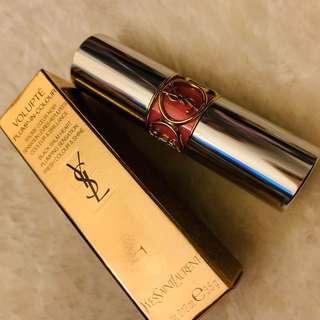 🚚 YSL 最新 熱賣 特價便宜賣 情挑誘吻豐潤蜜唇膏💄 色號1小露性感 咬唇妝