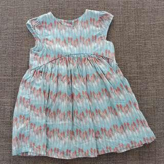 🚚 Baby Girl's dress and shirt bundle 3 to 6 months