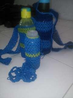 Botol Minum dan  Sarung Tas
