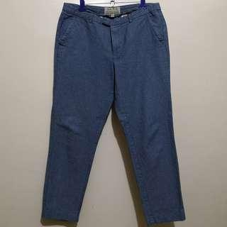 C338 - Jack Wills Blue Casual Trousers