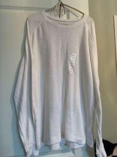 Calvin Klein Xl long sleeve white shirt
