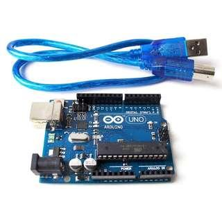 Arduino Uno R3 Compatible (With Free Cable)