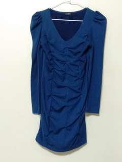 🚚 寶藍色洋裝