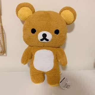 Big Rilakkuma plush stuffed bear