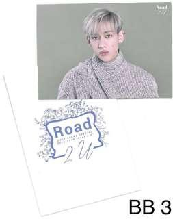GOT7 Japanese Road2U trading card - Bambam